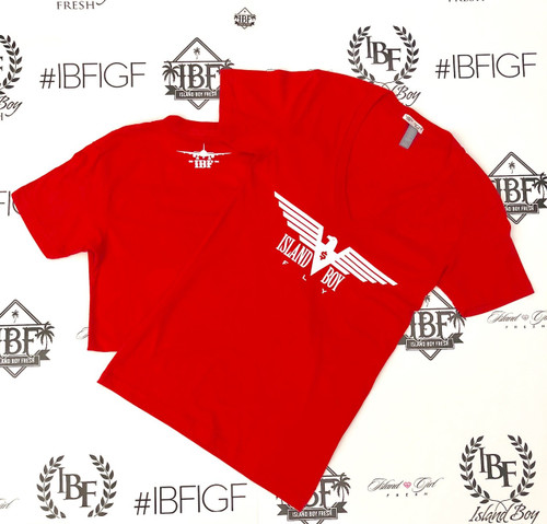 """""""Eagle Life"""" Red & White"""