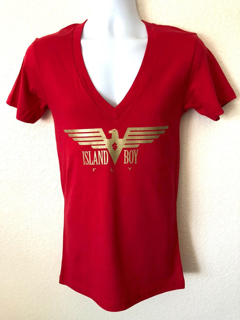 """""""Eagle Life"""" Red & Gold"""