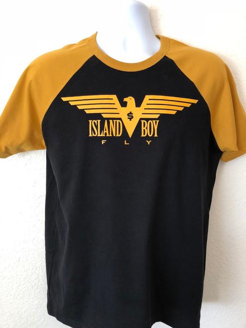"""Eagle Life"" Black & Mustard (BBS)"