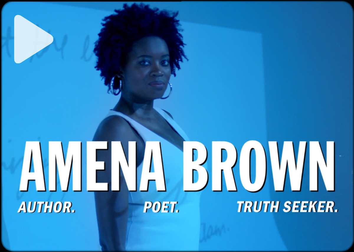 AMENA BROWN ON CREATING FOR WOMEN LIKE HER