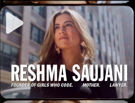 RESHMA SAUJANI ON THE STRENGTH OF GIRLS IN STEM