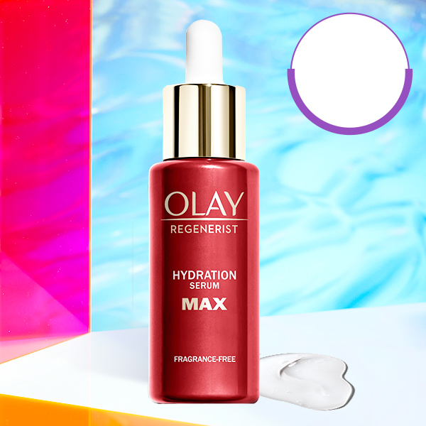 Hydration Serum MAX in Holographic setting featuring 70% off serums