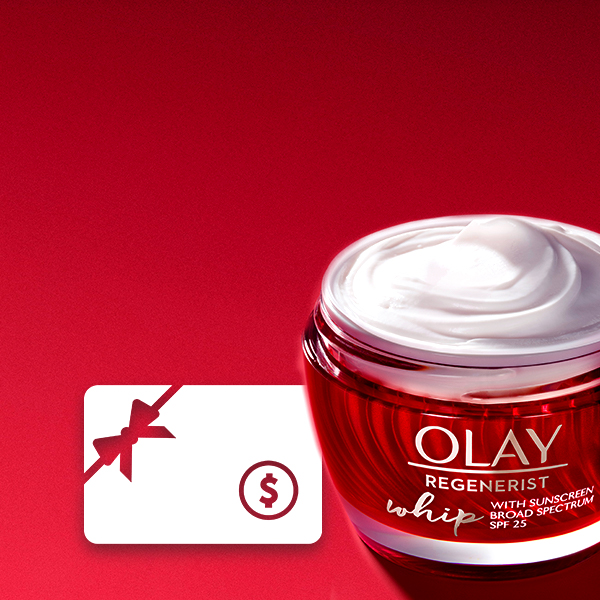 Sign up to club Olay and enter the sweepstakes for chance to win A $250 GIFT CARD. Enter by May 27th, no purchase necessary