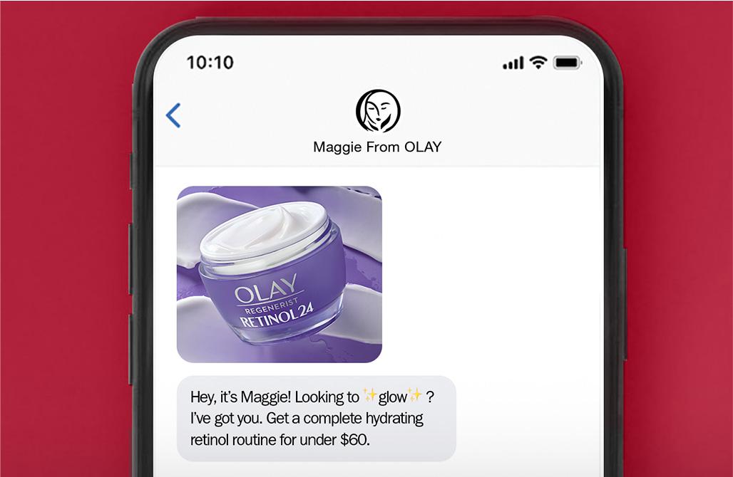 Iphone SMS screenshot