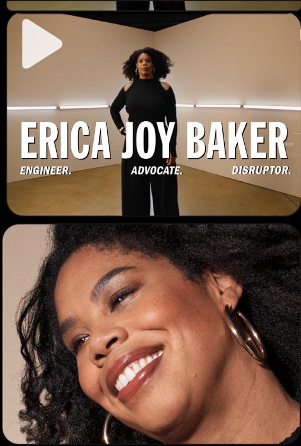 ERICA JOY BAKER ON MAXIMIZING WOMEN IN TECH