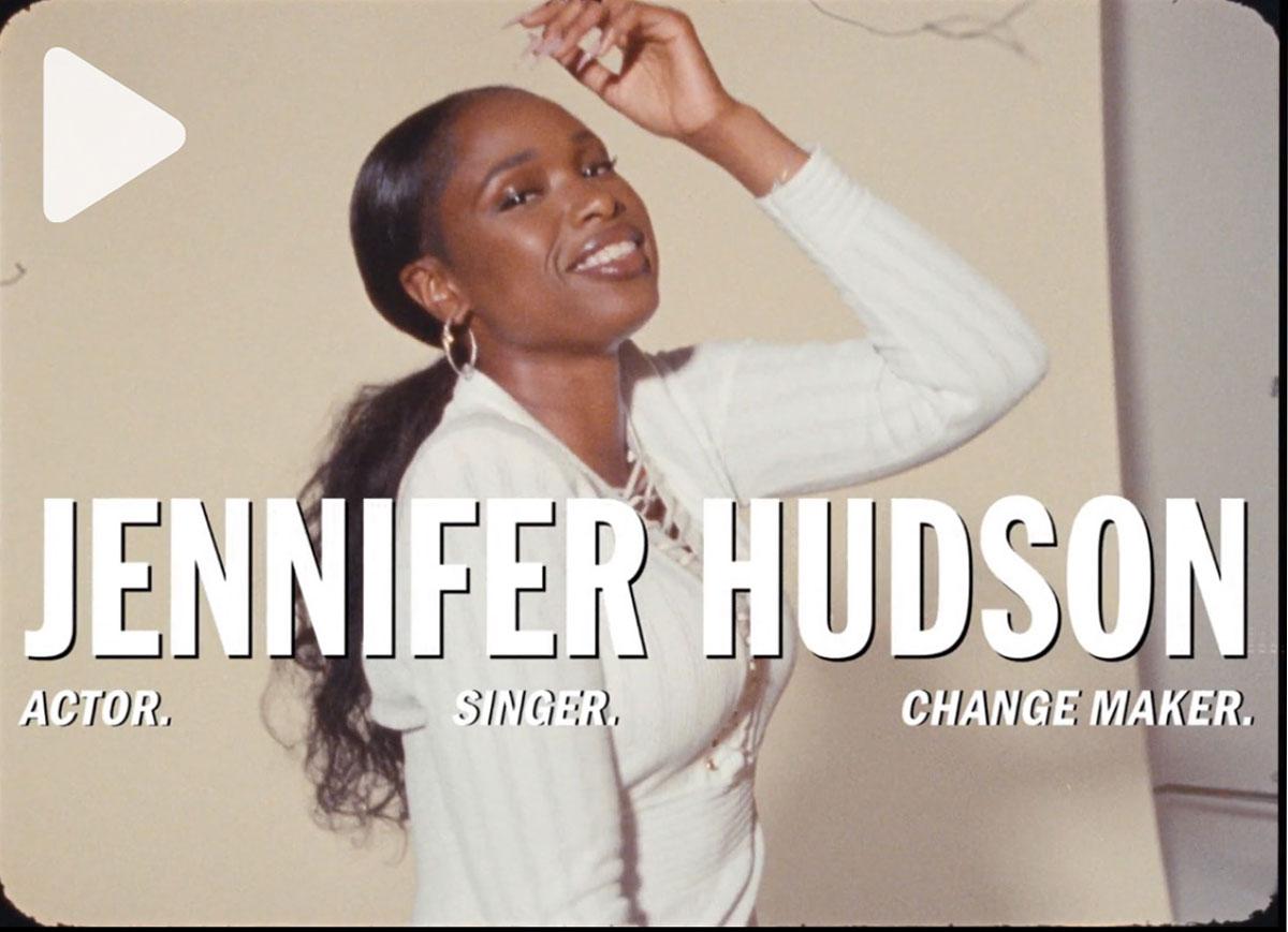 JENNIFER HUDSON ON THE POWER OF WOMEN