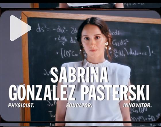 SABRINA GONZALEZ PASTERSKI ON CHANGING THE FACE OF STEM
