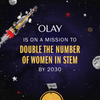 Olay is on a mission to double the women in STEM by 2030