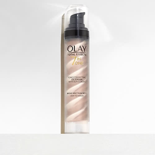 Olay Total Effects Tone Correcting CC Cream with SPF 15 for light-to-medium skin