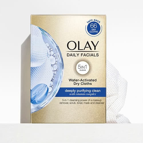 Daily Facial Cleansing Cloths with Vitamin E Complex