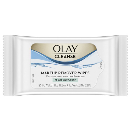 Cleanse Makeup Remover Wipes, Fragrance Free