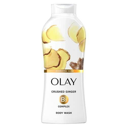 Olay Microscrubbing Cleansing Infusion Hydrating Glow Body Wash with Crushed Ginger 22oz