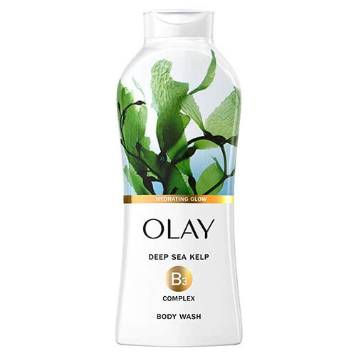 Olay Cleansing Infusion Hydrating Glow Body Wash with Deep Sea Kelp 22oz