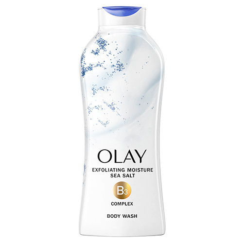 Olay Exfoliating Body Wash with Sea Salts