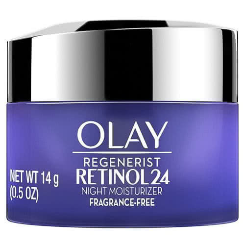 Regenerist Retinol24 Night Face Moisturizer Fragrance Free, Trial Size
