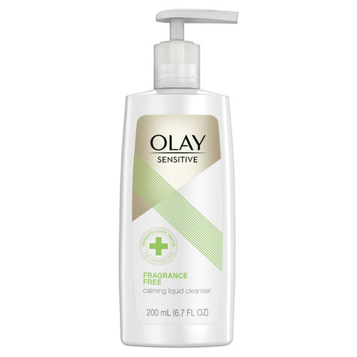 Olay Sensitive Calming Liquid Fragrance-Free Facial Cleanser