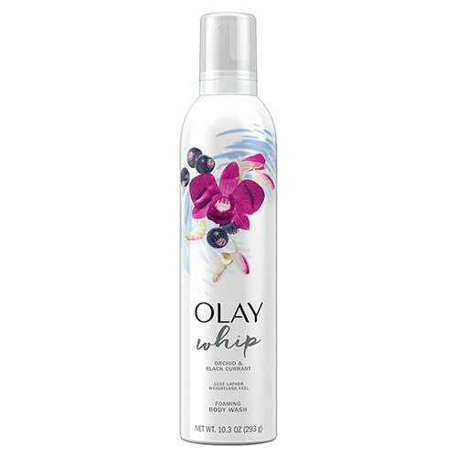 Foaming Whip Body Wash Orchid & Black Currant, 10.3 Oz