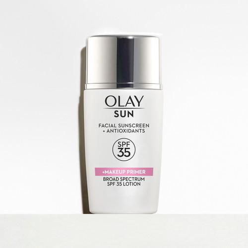 Olay Sun Face Sunscreen Serum + Makeup Primer with SPF 35