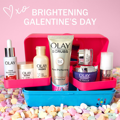 Brightening Galentine's Day Gift Set with Caboodle