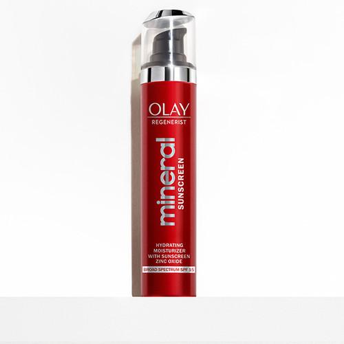 Olay Regenerist Hydrating Mineral Sunscreen SPF 15