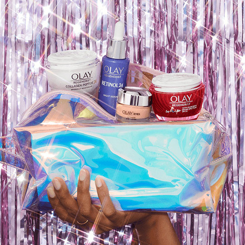 A Little Extra Smooth Gift Set with Holographic Bag