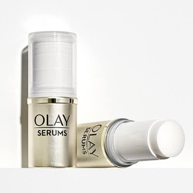 Olay Skin Brightening Serum Stick with Vitamin C and Vitamin B3, 0.5 oz