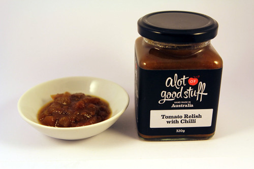 Tomato Relish with Chilli