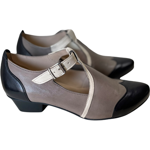 CANDEE-BLK/WH/GRY