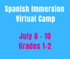 CAMP MAGNIFICO 7/06-7/10 Spanish Camp Week 6 (Gr1-2)