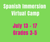 CAMP MAGNIFICO 7/13-7/17 Spanish Camp Week 7 (Gr3-5)