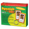 SPANISH IN A FLASH SET 1 (FLASH CARDS)