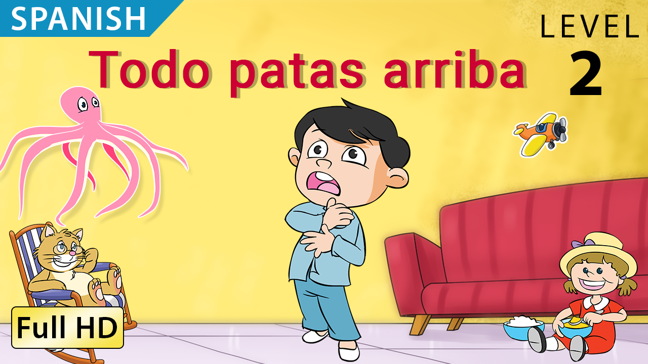 30 ANIMATED READERS - Set of Spanish Video Ebooks