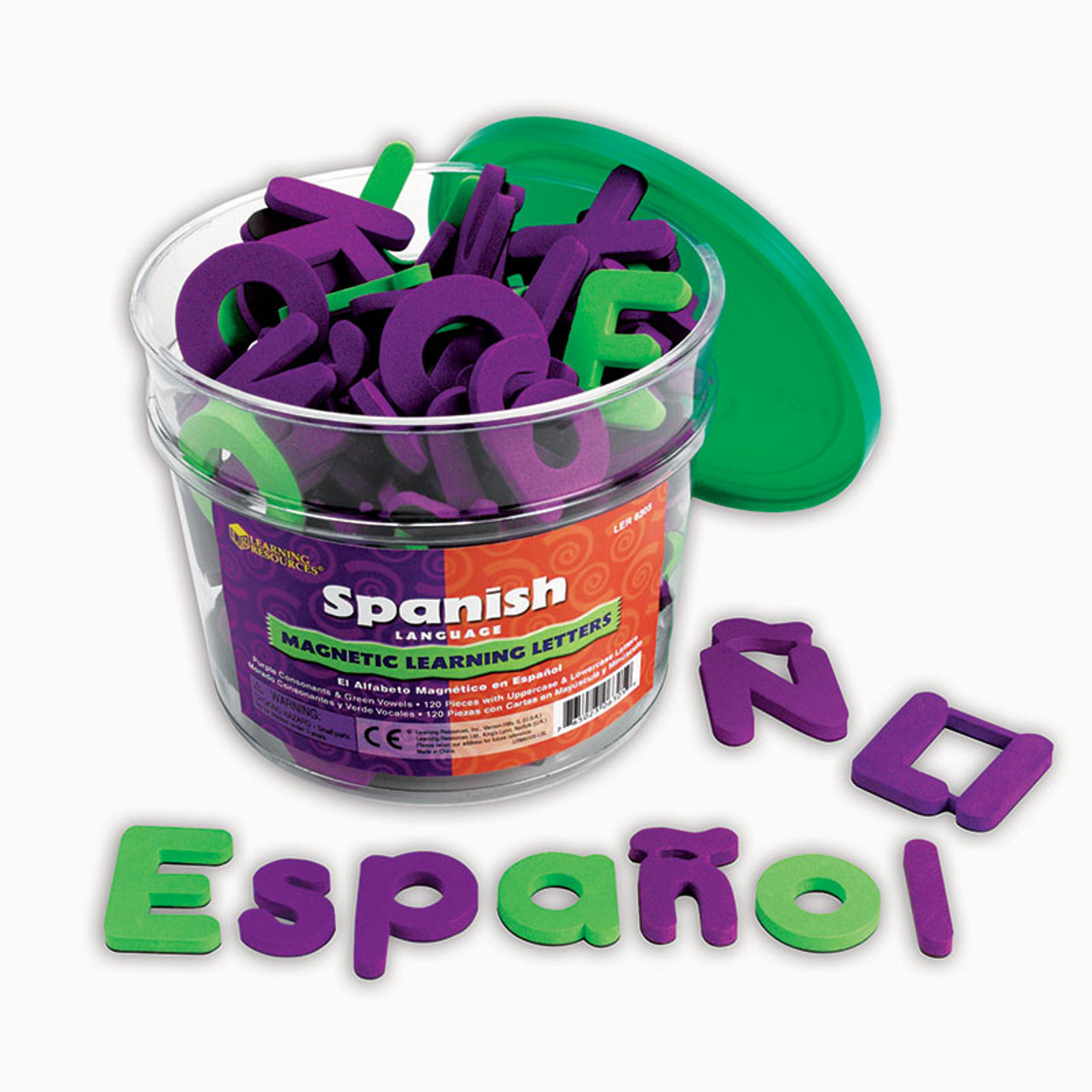 SPANISH MAGNETIC FOAM LEARNING
