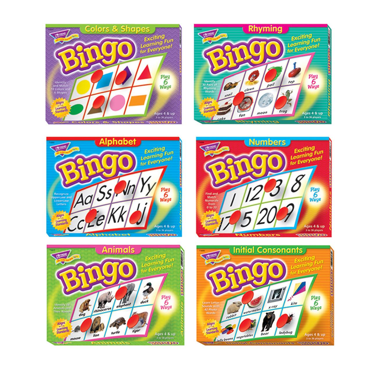 Early Learning Bingo Pack
