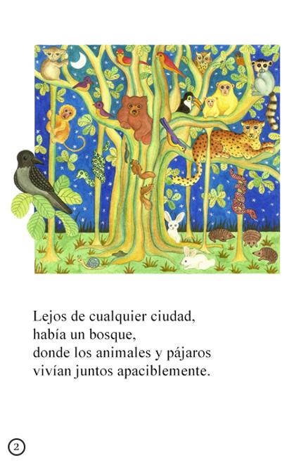 Los Cuatro Amigos - Animated Read Aloud (Spanish Video Ebook)