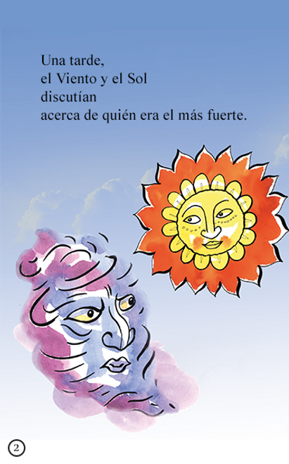 El Viento y el Sol - Animated Read Aloud (Spanish Video Ebook)