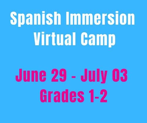 CAMP MAGNIFICO 6/29-7/03 Spanish Camp Week 5 (Gr1-2)
