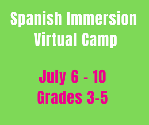 CAMP MAGNIFICO 7/06-7/10 Spanish Camp Week 6 (Gr3-5)