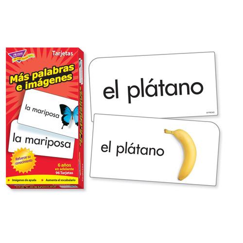 FLASH CARDS MAS PALABRAS E 96/BOX