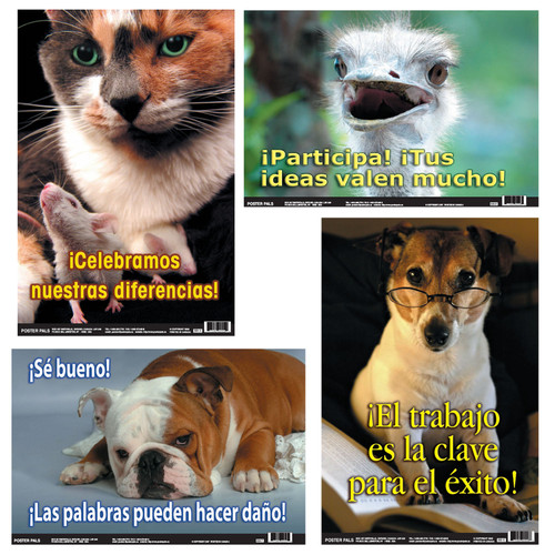 Spanish Fun Photo Posters Set 10 4 Poster Set