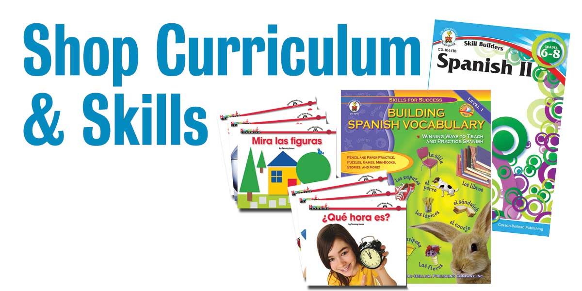 Shop curriculum and skills for spanish learning