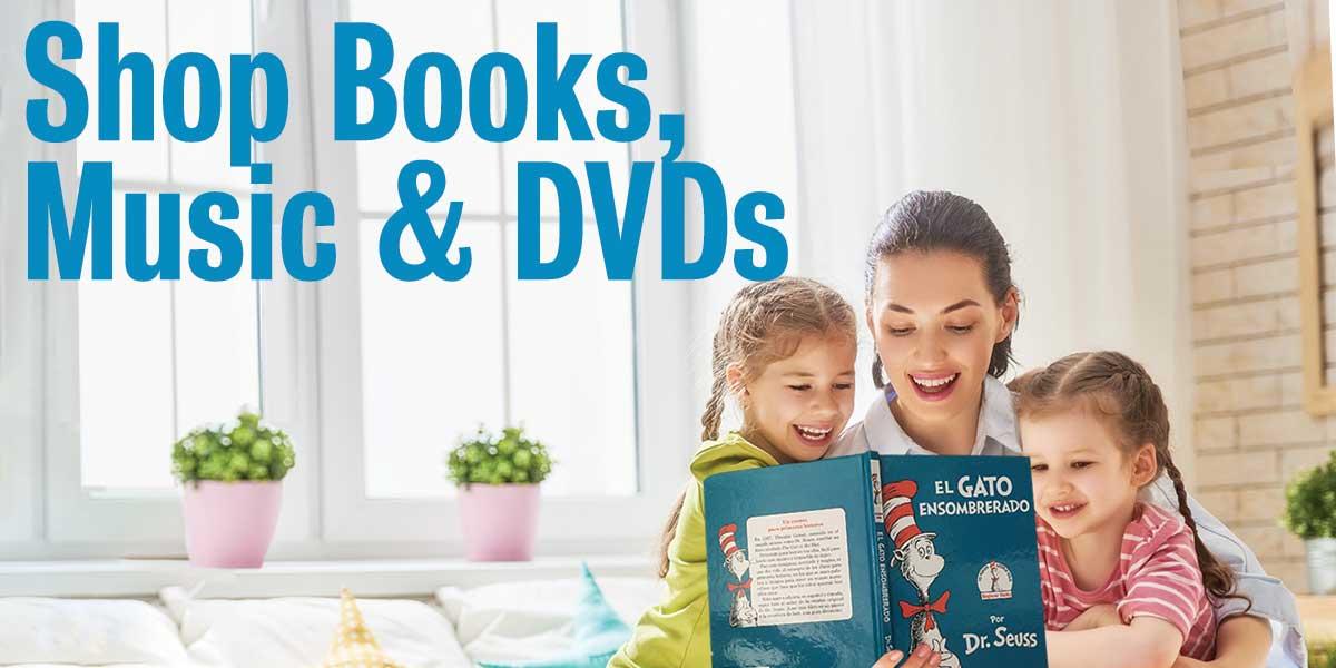 Shop spanish books, music dvds