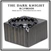 The Dark Knight BOYBEADS Matte + Polished Black Onyx 8mm or 10mm Men's Beaded Bracelet