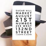 BOYBEADS @ Sugar Hill Market in Harlem 08/21/2016