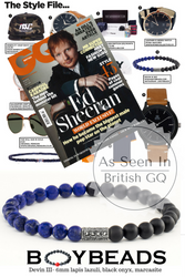 BOYBEADS Devin III Bracelet Featured in British GQ Magazine