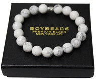 Bright for the Summer- White Howlite Albion Bracelet