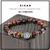 """""""Kiaan"""" 10mm Red Tiger Eye Ohm Spiritual Bracelet Gift"""