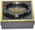 """Gabriel"" 10mm Black Onyx Christian Cross Prayer Beads Beaded Bracelet for Men by BOYBEADS New York"
