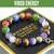 """Virgo Energy"" September Zodiac BOYBEADS 10mm tiger eye, carnelian, lapis, amethyst, citrine custom bead bracelet guys"