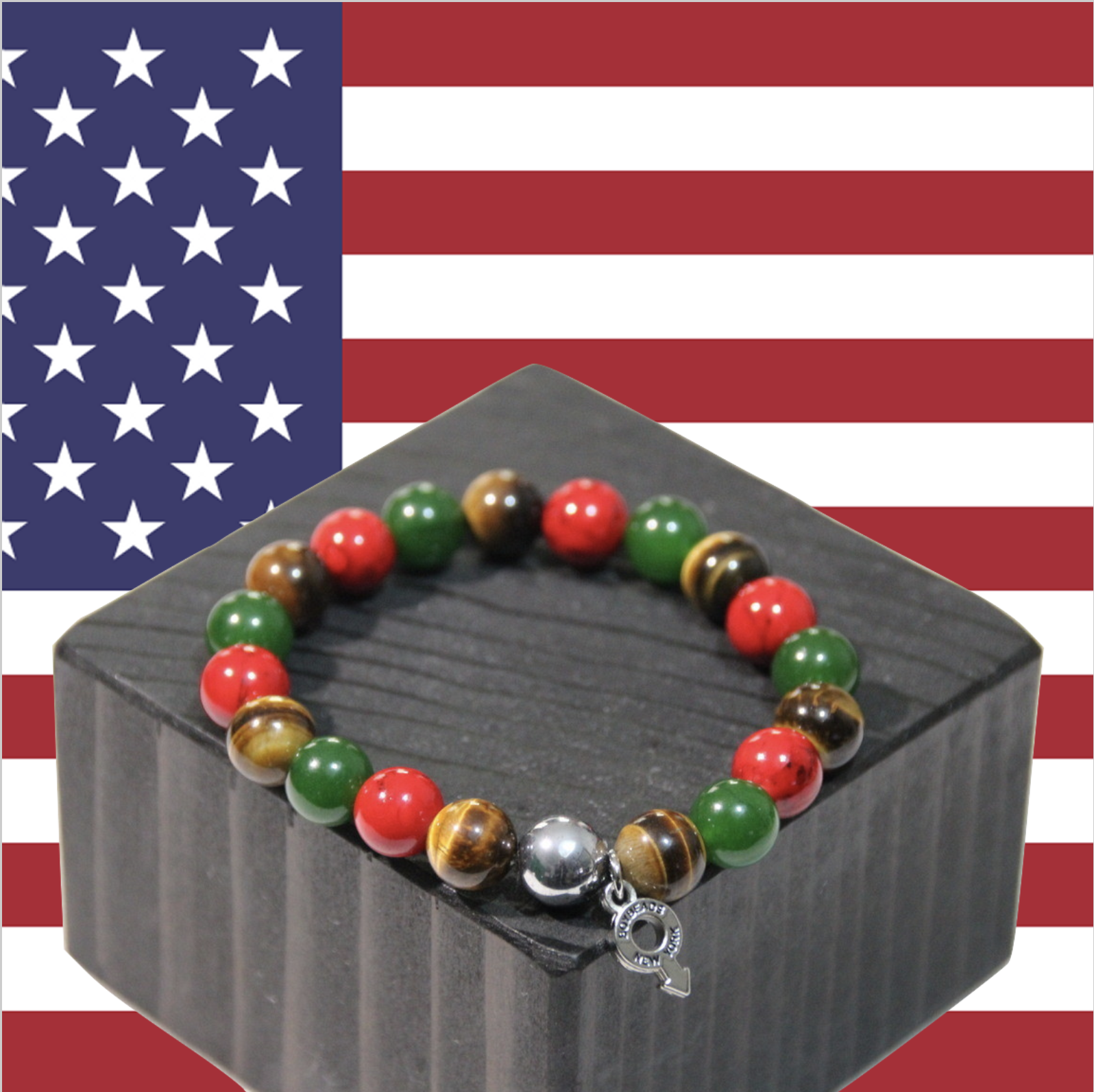 boybeads-holiday-collection-2019-booker-red-tiger-eye-green-jade-beaded-bracelet-for-guys-men-christmas-kwanzaa-2019.png